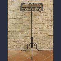 Iron bookstand