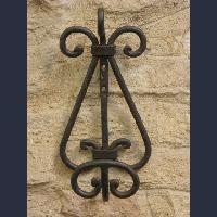 Iron coat rack