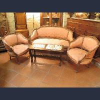 Antique sofa armchairs